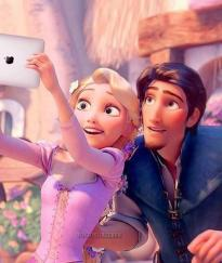 selfie raperunzel